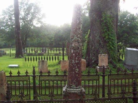 Cemetery in St. Francisville off Ferdinand St.