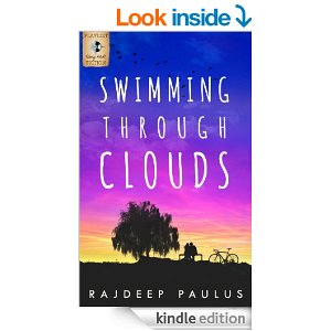 swimming through clouds